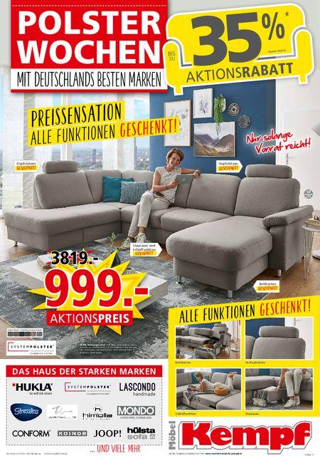 Möbel Kempf KW36 vom 06.09.2021