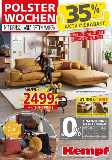 Möbel Kempf KW38 vom 20.09.2021