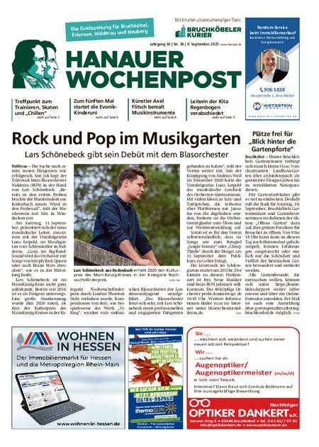 Hanauer Wochenpost West vom 08.09.2021