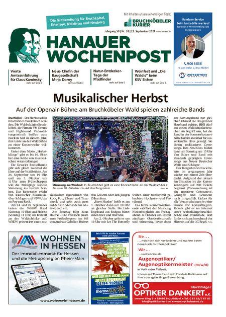 Hanauer Wochenpost West vom 22.09.2021