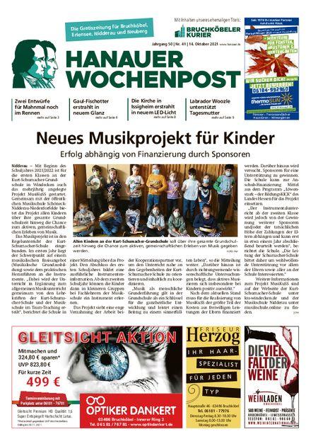 Hanauer Wochenpost West vom 13.10.2021