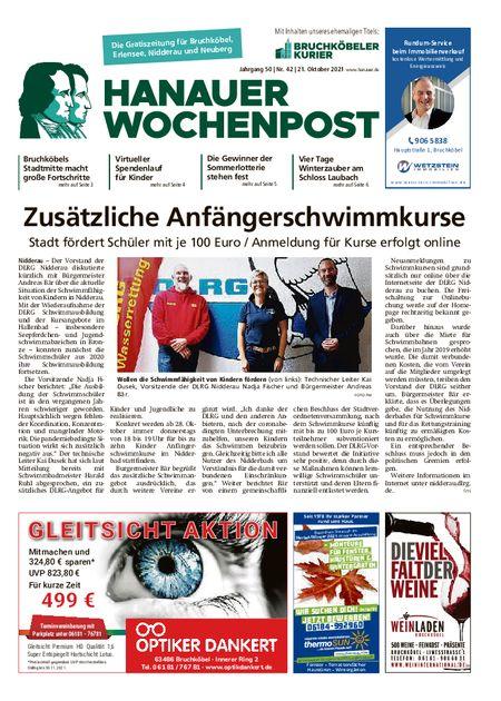 Hanauer Wochenpost West vom 20.10.2021