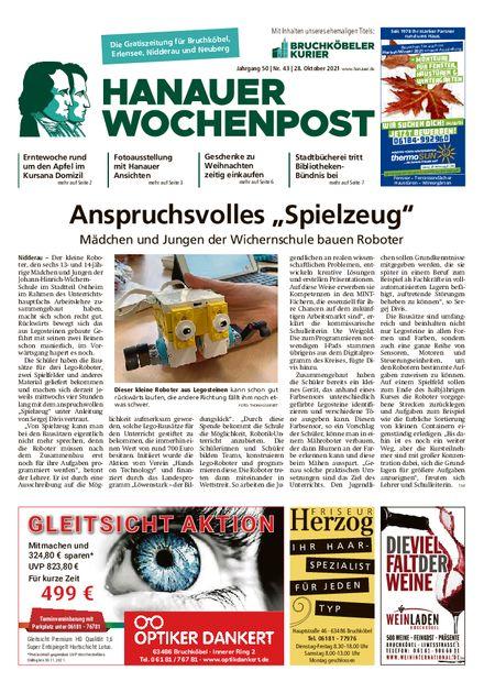 Hanauer Wochenpost West vom 27.10.2021