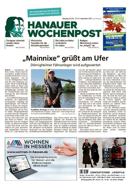 Hanauer Wochenpost Maintal vom 15.09.2021