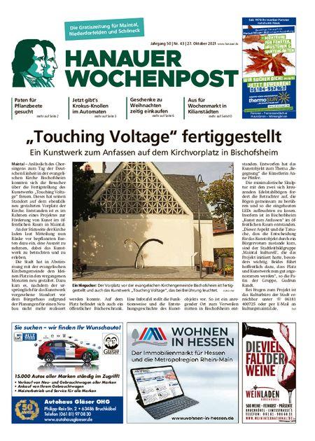 Hanauer Wochenpost Maintal vom 27.10.2021