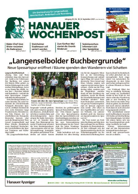 Hanauer Wochenpost Ost vom 08.09.2021