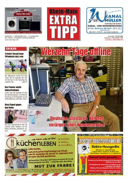 Extra Tipp OF Dieburg vom 11.09.2021